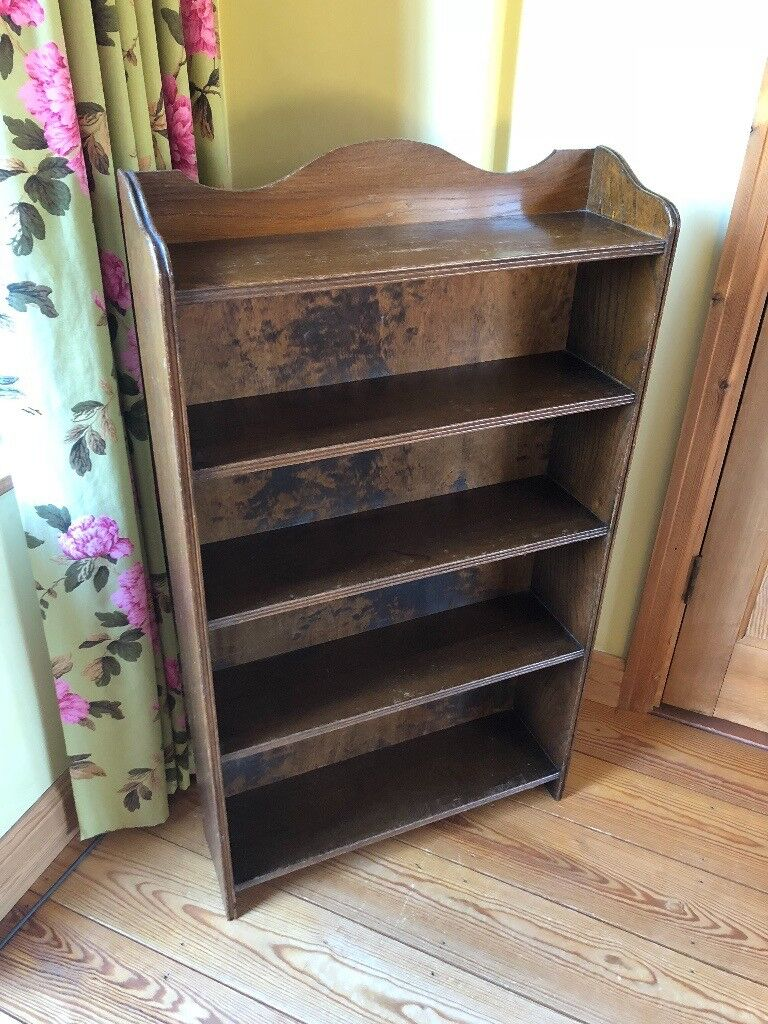 Oak Wooden Bookshelf Excellent Quality And Condition