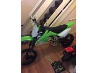 Stomp pitbike crf70 frame