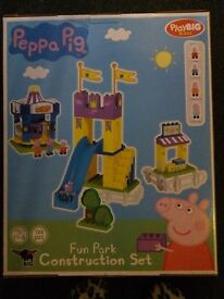 peppa pig contrustion set NEED GONE