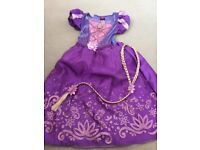 Girls Disney rapunzel dress 5-6yrs