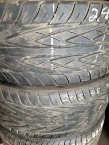 2 summer tires toyo proxes 245/45r20 tt