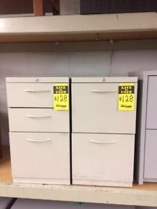 USED Office Furniture Matching Set of Pedestal Drawers