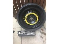 Audi a2 spare wheel with jack