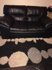 2 and 3 Seaters leather sofas for free