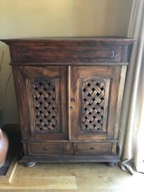 Indian Rosewood TV cabinet