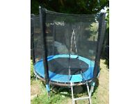 Small,6 ft Trampoline in good condition
