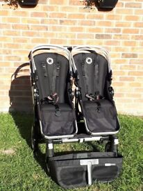 Bugaboo Donkey Duo with multiple colour packs