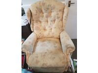 FREE manual recliner armchair