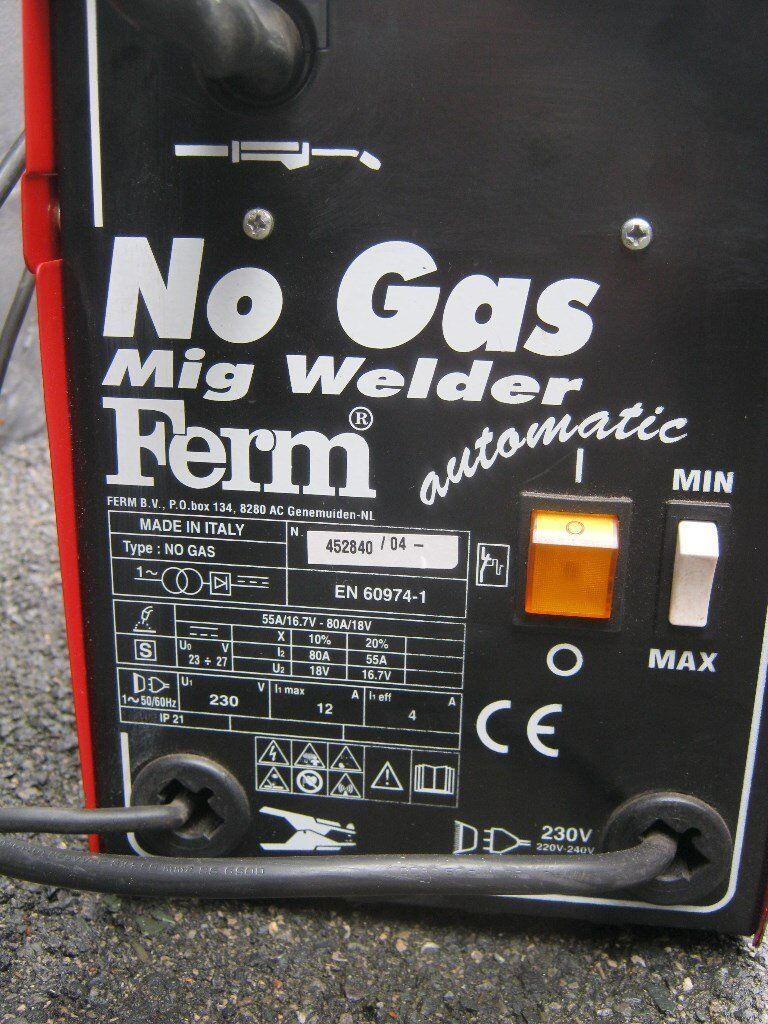 Gasless Mig Welder 80 Amp