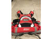 Delta RU50 Red Buoyancy Aid for Whitewater kayaking