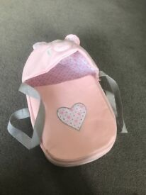 Dolls car seat and carrier