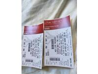 2 tickets to Status Quo in Cardiff (weds 14 December 2016)
