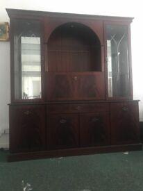 Morris of Glasgow Display cabinet