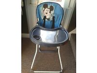 disney baby high chair