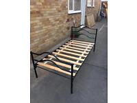 Single bed metal frame 3'