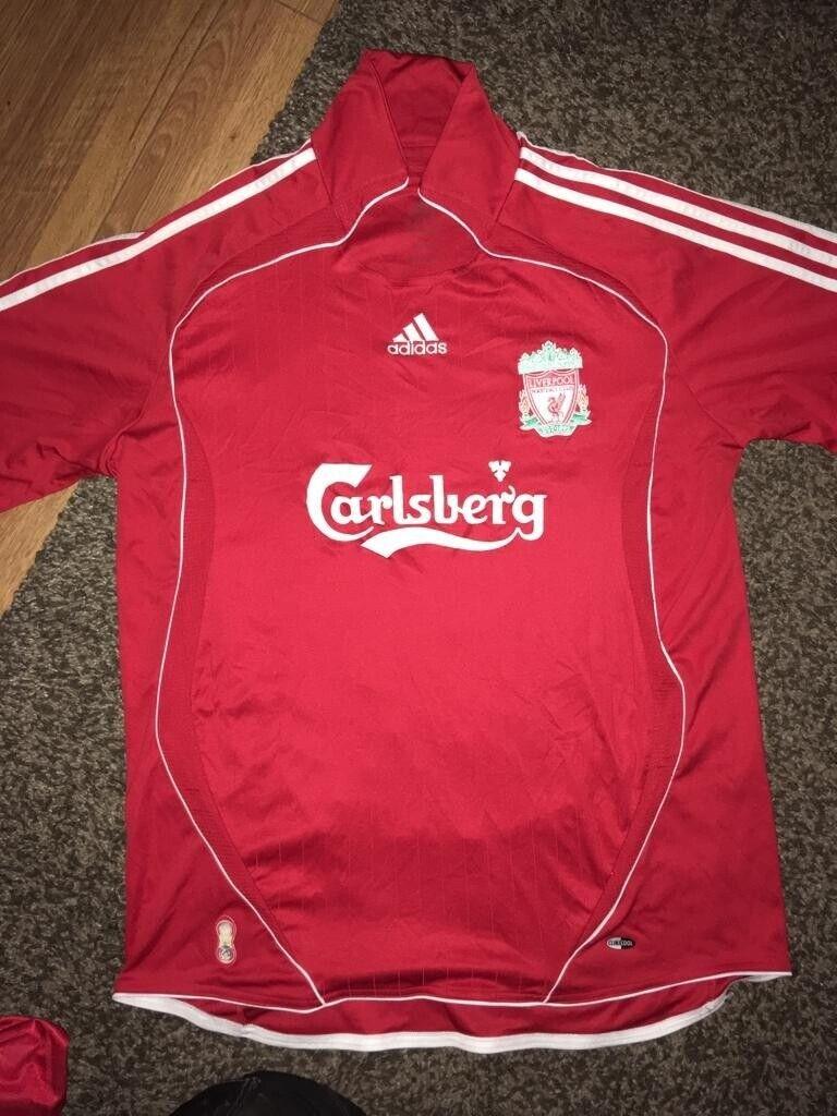 Liverpool FC football shirts (size L)   in Littleborough, Manchester   Gumtree