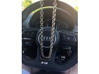 Gold Plated Patterned Belcher Chain