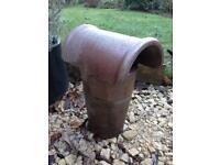 Bonnet top chimney cowl