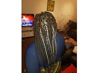 Mobile Afro/European hair braiding
