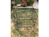 Small dog/puppy crate/cage