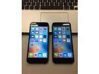 iphone 6 16GB factory unlocked good condition x2 (Bargin)