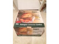 Halogen Convector Cooker (cooper), never used and still boxed £15