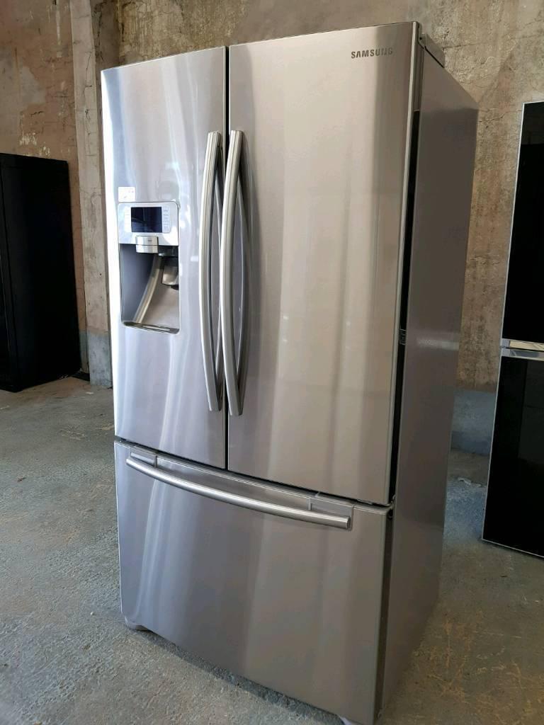 Samsung Rfg23uers American Style Fridge Freezer Real