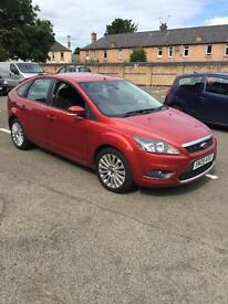 Ford Focus genuine mileage
