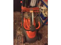Fly Mo Venturer 230 Lawnmower and Black & Decker Trimmer