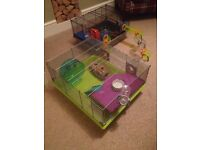 2x Rotastak Hamster Cages. Can be bought together or separate.