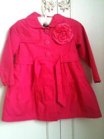 Girls raincoat size 18-24 months