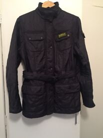 Barbour international jacket size 16