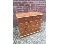 Lovely pine chest of drawers