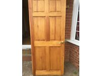 Varnished doors