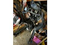 Old shape gilera runner vxr frame and logbook