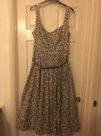 Jasper Conran occasion dress with belt size 16