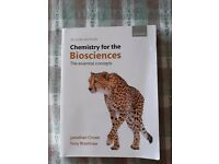 Chemistry for the bio-sciences 2nd edition