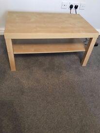 Light Beech coffee table
