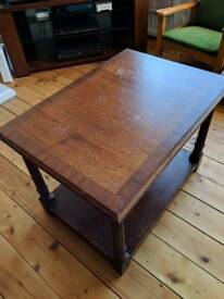 Mahogany coffee/side table