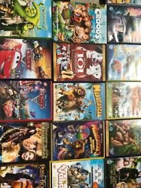 21 Children's DVD's - all genuine, in good condition, with hologram on disc inc many Pixar films.
