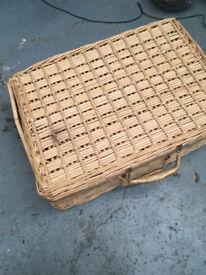 Wicker Picnic Basket - empty