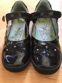 Black patented Black shoes