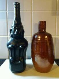 Two old bottles