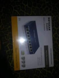 Netgear prosafe Ethernet switcher