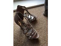 Carvela grey/silver shoes