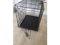 Dog puppy cage