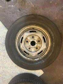 215/75/16C Brand New Van Tyre With Steel Rim