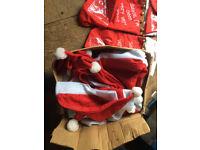 santa hats box full