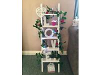 Display ladder for wedding, Christening or home made to order