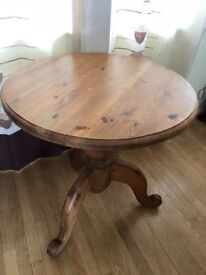 Small Solid Pine Table